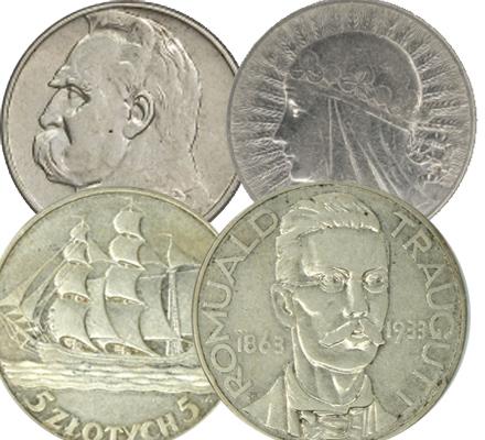 Skup monet przedwojennych