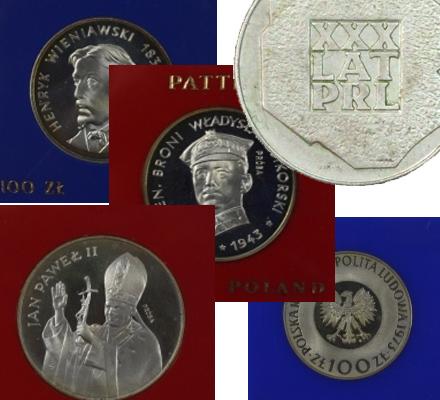 Skup monet z okresu PRL