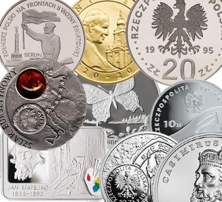 Skup monet kolekcjonerskich